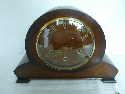 SMITHS Westminster Chime Pendulum Mantel Clock - With Key - Instructions