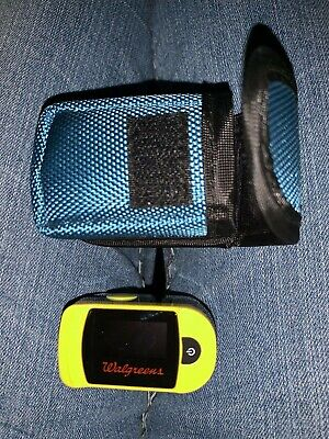 Walgreens Pulse Oximeter C20 Includes Carrying Case MINT!!
