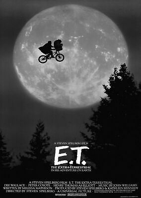 227105 E.T. Vintage Movie Decor PRINT POSTER AU