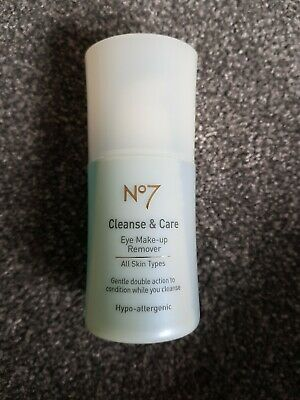 Boots No7 Cleanse & Care Eye Make Up Remover 30ml New