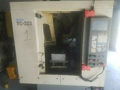 Brother TC-323 Drilling and Tapping Center  Year 1994