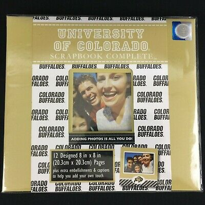 NEW CU Scrapbook and Accessories University of Colorado Tapestry Buffaloes Buffs
