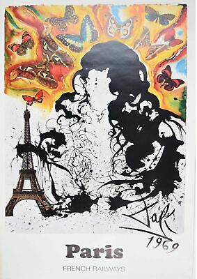 "217946 ""Salvador Dali - Paris"" Decor PRINT POSTER US"