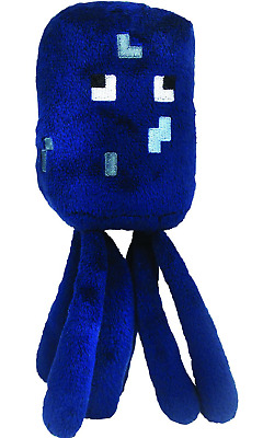 Minecraft 7-Inch Squid Animal Plush Toy soft toy Official From the Game Novelty