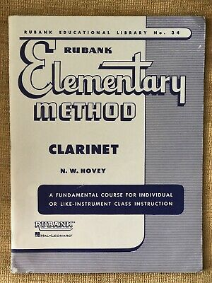 Rubank Elementary Method-Clarinet, By N.W. Hovey