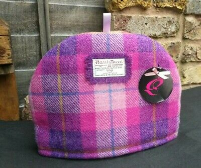 Harris Tweed Hand Woven Medium Teacosy 31 X 23 cm made by Queenie (Margo Elder)