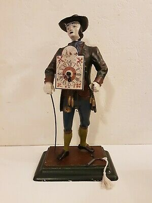 JVE 'Peddler' Dutch Vintage Figure Clock
