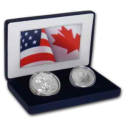 2019 U.S. Mint Pride of 2 Nations Limited Edition 2-Coin Set