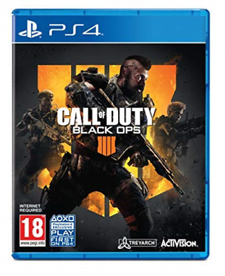 PS4-Call Of Duty: Black Ops 4 (Ps4) (UK IMPORT) GAME NEW