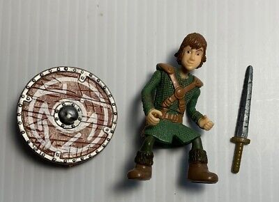 How To Train Your Dragon Hiccup Action Figure 2010 Spin Master Loose