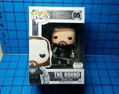 Funko Pop! Game of Thrones - The Hound Vinyl Figure [GoT #05] -- VAULTED