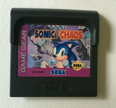Sonic the Hedgehog Chaos - Game Cart Only - Sega Game Gear