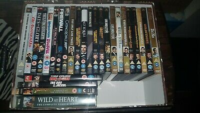DVDS - James Bond Collection + Disney + Kids Movies + Action Movie Collection