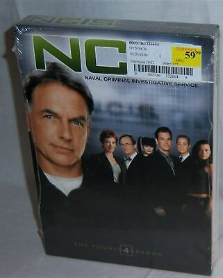 New Mark Harmon Ncis Complete Fourth 4Th Season 4 Four Tv 6 Disc Dvd Set 2006