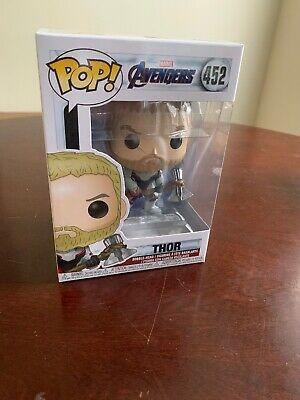 Funko Pop! Marvel Thor Avengers Endgame Vinyl Figure Mint #452 NEW