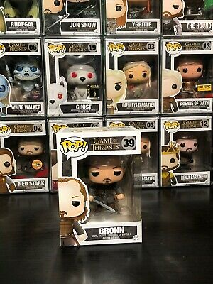 100% AUTHENTIC Funko PoP Vinyl Retired Vaulted Game of Thrones Bronn 39
