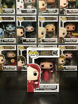 AUTHENTIC Funko PoP Vinyl Retired Vaulted Game of Thrones Melisandre 42