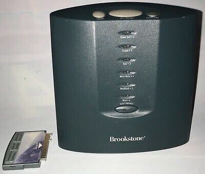 Brookstone Tranquil Moments Sleep Sound Machine with Ocean Escape Sound Card