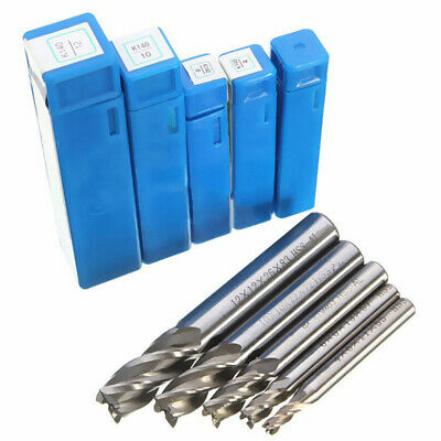 End Mill Bits Straight Shank Engraving Spiral Router Cutting Accessories