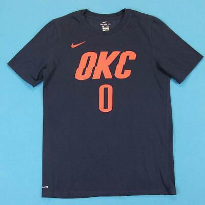 best sneakers 7a544 63ffb YOUTH NIKE RUSSELL Westbrook #0 OKC Thunder Navy Swingman ...
