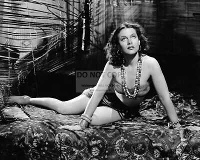 Actress Hedy Lamarr Pin Up - 8X10 Publicity Photo (Sp201)