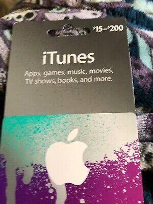 Apple App Store & iTunes $30 Physical Gift Card