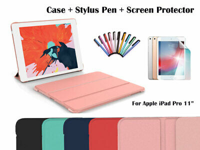 For iPad Pro 11-inch Ultra Slim Magnetic Smart Cover Folding Case
