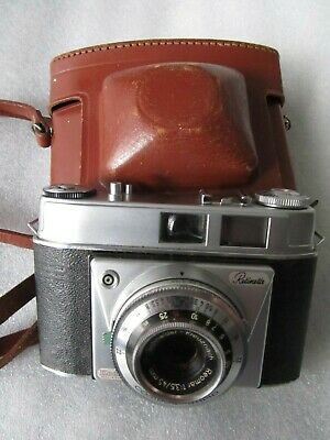 Vintage 1950's Kodak Retinette (fixed lens) 35mm Camera and case made in Germany