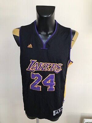 Maillot Basket Ancien Lakers Numero 24 Briant Taille XL