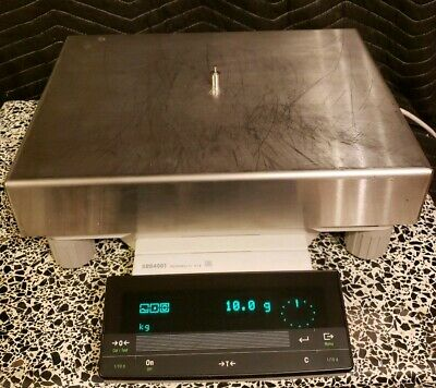 Mettler Toledo SR64001 d=0.1g Max=64100.0g Balance Working Great, Platform Scale