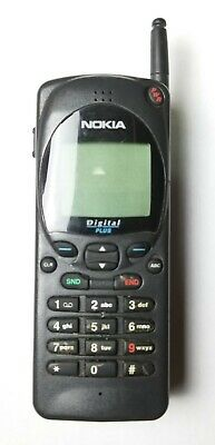 "NOKIA 2160 *DIGITAL PLUS* Vintage MOBILE CELLULAR ""BAR"" TELEPHONE Phone #NHC-4NE"