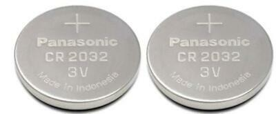 Panasonic CR2032 Lot de 2 Piles Bouton au Lithium 3V
