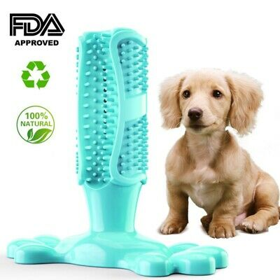 Dog Toothbrush Chew 5Colors Cleaning Toy Silicone Pet Brushing Oral Dental Care
