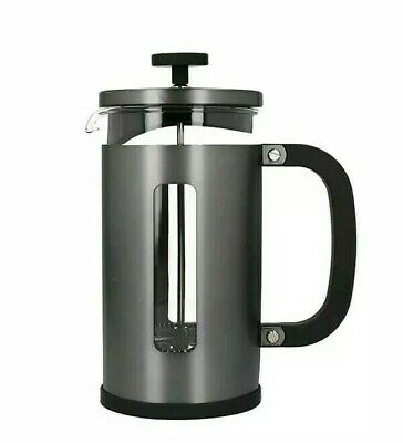 Cafetiere 8 Cup//1.2l//35fl oz Black La Cafetiere Wake Up And Smell The Coffee