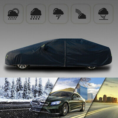 Large Size Waterproof Full Car Cover Universal UV Protection Outdoor Breathable