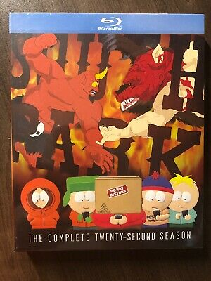 NEW South Park The Complete Twenty Second Season 22 Blu-Ray w Slipcover Canada