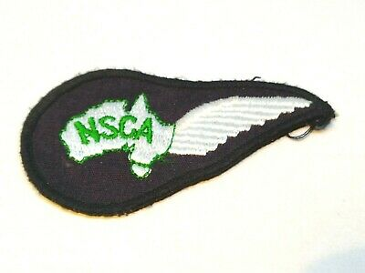 Collectable Nsca National Safety Council Wing Patch / Badge