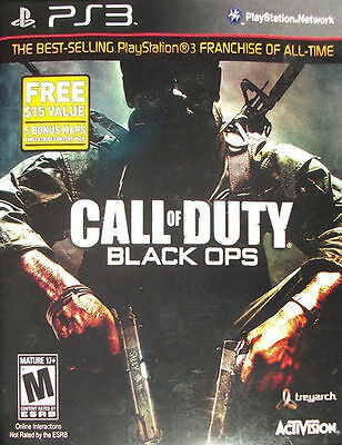 Call of Duty: Black Ops with First Strike Content Pack Playstation 3 by Activis
