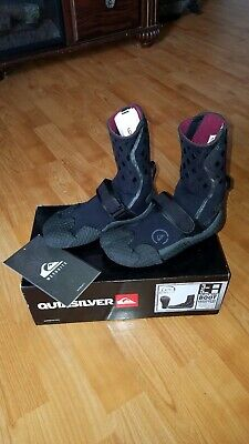 7c0e96e13e QUIKSILVER™ SYNCRO 1MM Round Toe Reefwalker Surf Booties - $20.00 ...