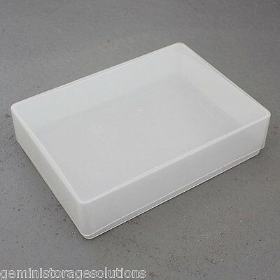 Clear Plastic A5  Craft Paper/Card Storage Boxes