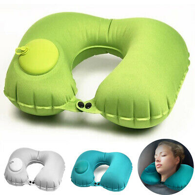 For Travel Office Nap Head Air Neck Cushion U-Shape Inflatable Travel Pillow
