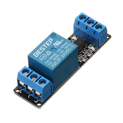 BESTEP 1 Channel 24V Relay Module Optocoupler Isolation With Indicator Input Act