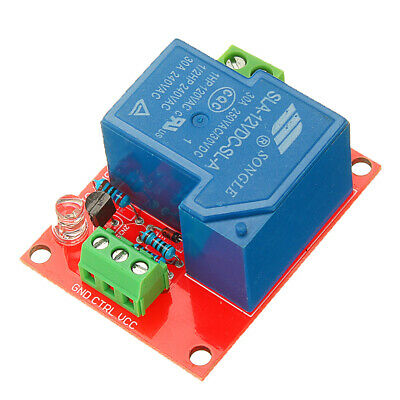 BESTEP 12V 30A 250V 1 Channel Relay High Level Drive Relay Module Normally Open