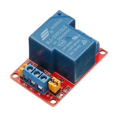 BESTEP 1 Channel 12V Relay Module 30A With Optocoupler Isolation Support High An