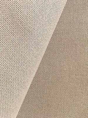 Sand Linda 27 Count Zweigart even weave fabric - various size options