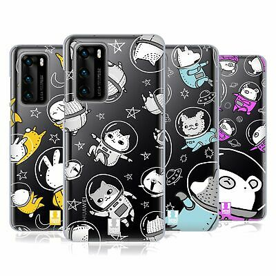 Head Case Designs Space Animals Gel Case For Huawei Phones