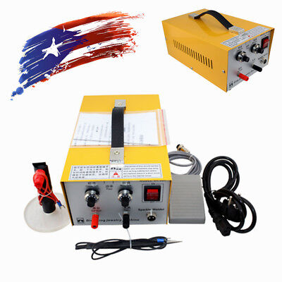 2in1 Jewelry Pulse Sparkle Spot Welder Electric Jewelry Welding Machine NEW