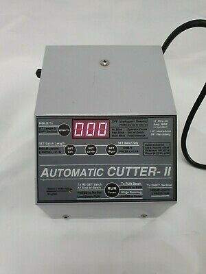 Automatic Wire Cutting Machine | Automatic Cutter II MADE IN USA 12 to 40 Awg