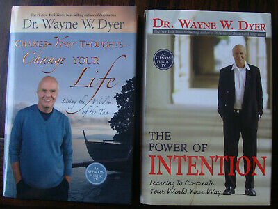 The Power of Intention + Change Your Thoughts/Life - (2 Hardcovers) - Dr. Wayne
