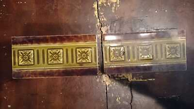 Victorian and Edwardian Border Tiles - 2